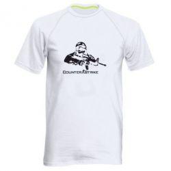 Мужская спортивная футболка Counter Strike Player - FatLine