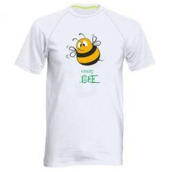 Мужская спортивная футболка Crazy Bee