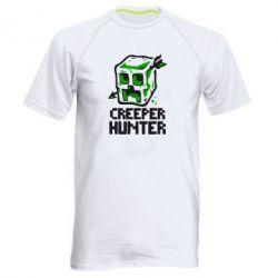 Мужская спортивная футболка Creeper Hunter