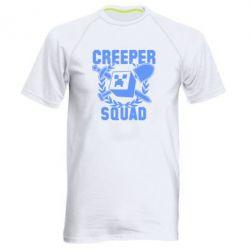 Мужская спортивная футболка Creeper Squad - FatLine
