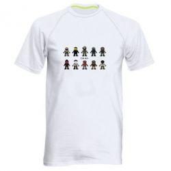Мужская спортивная футболка CS GO Heroes