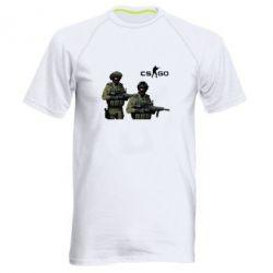 Мужская спортивная футболка CS GO - FatLine