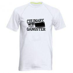 Мужская спортивная футболка Culinary Gangster - FatLine