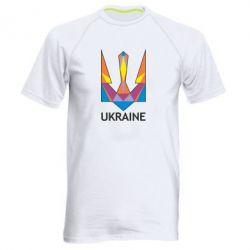 Мужская спортивная футболка Цветной герб - FatLine