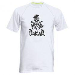 Мужская спортивная футболка DAKAR LOGO - FatLine