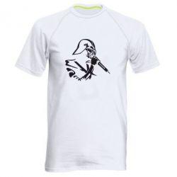 Мужская спортивная футболка Дарт Вейдер караоке - FatLine