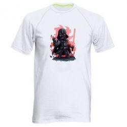 Мужская спортивная футболка Darth Vader Force - FatLine
