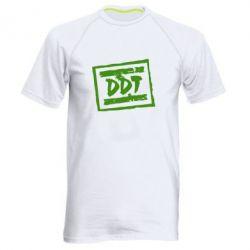 Мужская спортивная футболка DDT (ДДТ) - FatLine