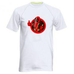 Мужская спортивная футболка Deadpool Fallout Boy - FatLine