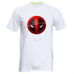 Мужская спортивная футболка Deadpool Logo - FatLine