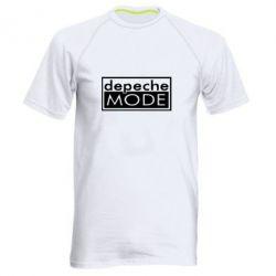 Мужская спортивная футболка Depeche Mode Rock - FatLine