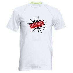 Мужская спортивная футболка Depeche Mode Wrong