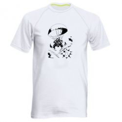 Мужская спортивная футболка Десантник - FatLine
