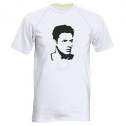 Мужская спортивная футболка Дин Винчестер - FatLine