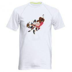 Мужская спортивная футболка Диппер и Мэйбл - FatLine