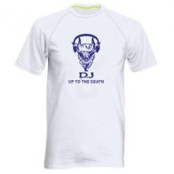 Мужская спортивная футболка Dj Up to the Dead - FatLine