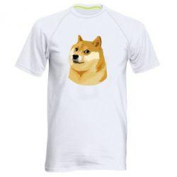 Мужская спортивная футболка Doge - FatLine