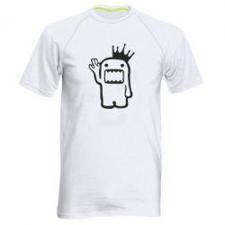 Мужская спортивная футболка Домо Кун с короной - FatLine