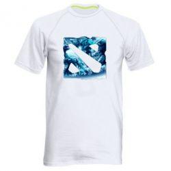 Мужская спортивная футболка Dota 2 Fan Art (Logo) - FatLine