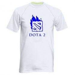 Мужская спортивная футболка Dota 2 Fire - FatLine