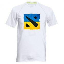 Мужская спортивная футболка Dota 2 Ukraine Team - FatLine