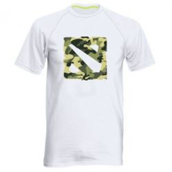 Мужская спортивная футболка Dota камуфляж - FatLine
