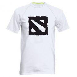 Мужская спортивная футболка Dota Logo Дота - FatLine