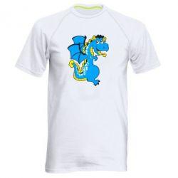 Мужская спортивная футболка Дракоша - FatLine