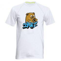 Мужская спортивная футболка Drift Bear - FatLine