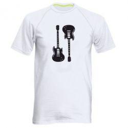 Мужская спортивная футболка Две гитары - FatLine
