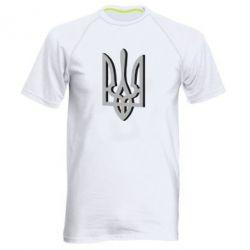 Чоловіча спортивна футболка Двокольоровий герб України