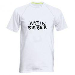 Чоловіча спортивна футболка Джастин Бибер