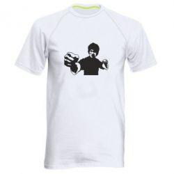 Мужская спортивная футболка Джеки Чан - FatLine