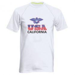Мужская спортивная футболка Eagle USA - FatLine