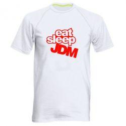 Мужская спортивная футболка Eat sleep JDM - FatLine