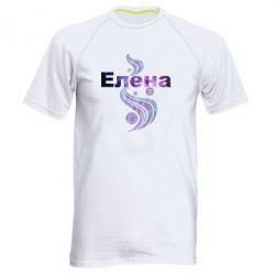 Мужская спортивная футболка Елена
