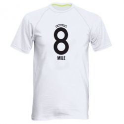 Мужская спортивная футболка Eminem 8 mile - FatLine