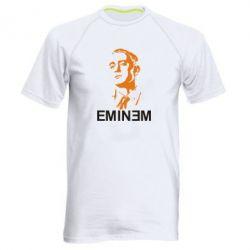 Мужская спортивная футболка Eminem Logo - FatLine
