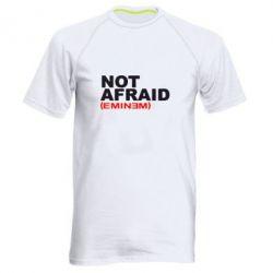 Мужская спортивная футболка Eminem Not Afraid - FatLine