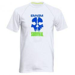 Мужская спортивная футболка Eminem Survival - FatLine