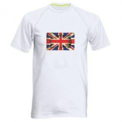 Мужская спортивная футболка England - FatLine