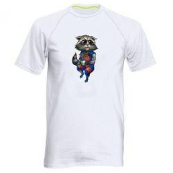 Чоловіча спортивна футболка Єнот Ракета і Грут