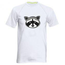 Мужская спортивная футболка Енотик - FatLine