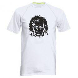Мужская спортивная футболка Энштейн - FatLine