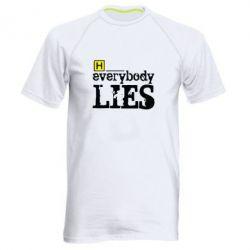 Чоловіча спортивна футболка Everybody LIES House - FatLine