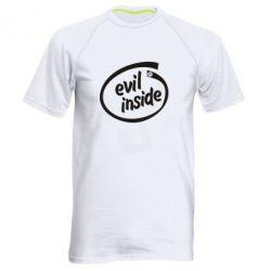 Мужская спортивная футболка Evil Inside - FatLine