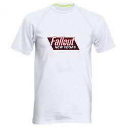 Мужская спортивная футболка Fallout New Vegas - FatLine