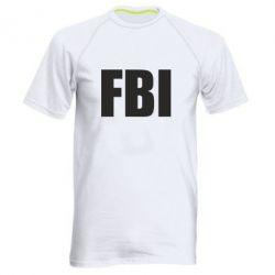 Мужская спортивная футболка FBI (ФБР)