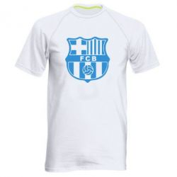 Мужская спортивная футболка FC Barcelona - FatLine