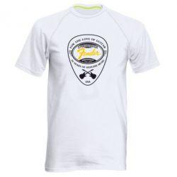 Мужская спортивная футболка Fender - FatLine